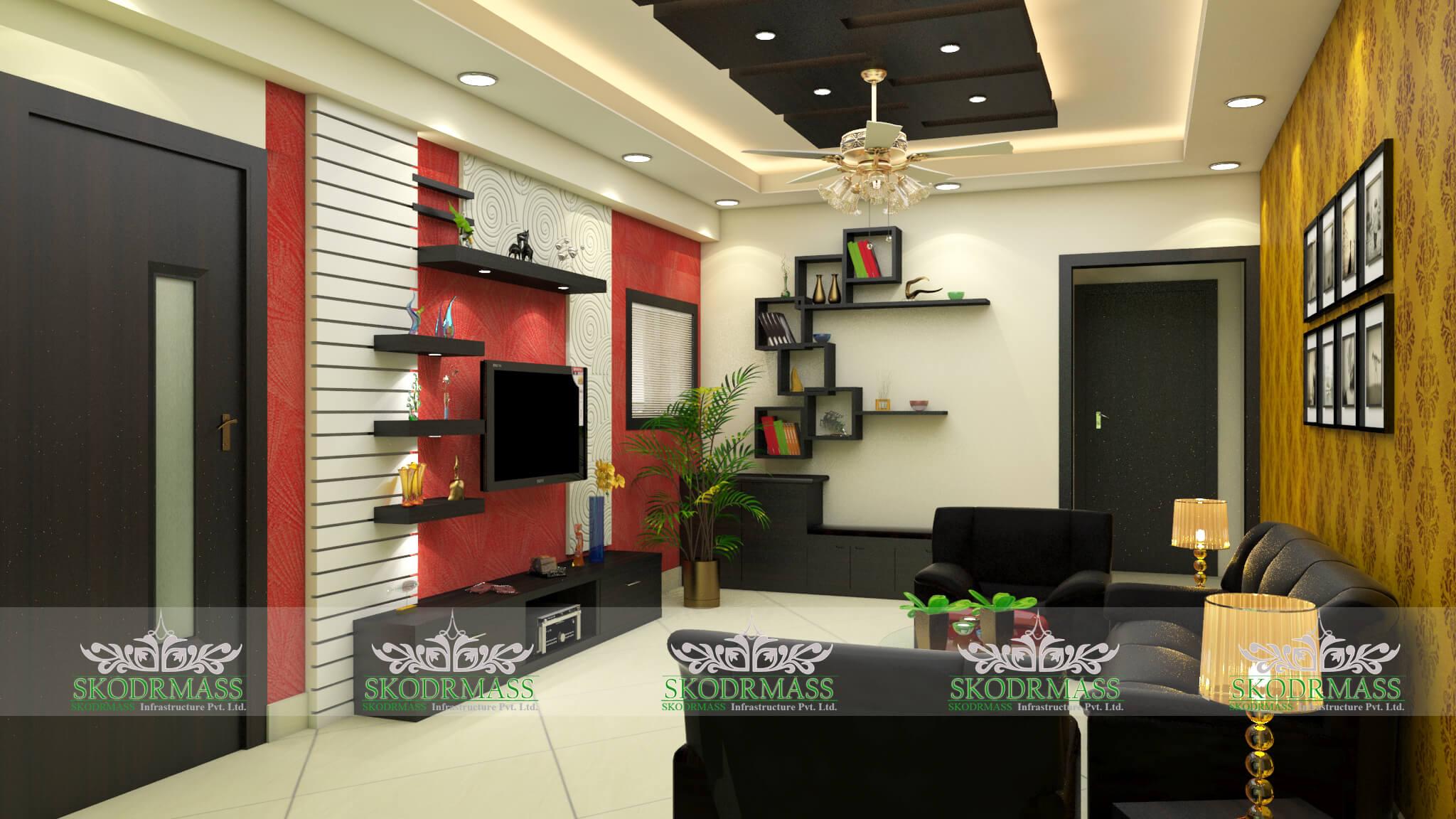 Interior design decoration interior designers in delhi for Interior decoration rates kolkata